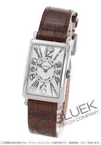フランクミュラー ロングアイランド アンサンブル レリーフ クロコレザー 腕時計 レディース FRANCK MULLER 902 QZ REL V-R