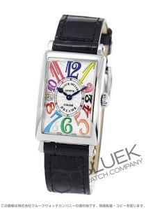 フランクミュラー ロングアイランド カラードリームズ クロコレザー 腕時計 レディース FRANCK MULLER 902 QZ COLOR DREAMS