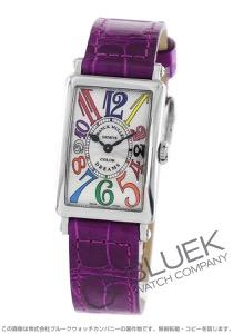 フランクミュラー ロングアイランド カラードリーム クロコレザー 腕時計 レディース FRANCK MULLER 902 QZ COL DRM[FM902QZCDSSSLENPU]