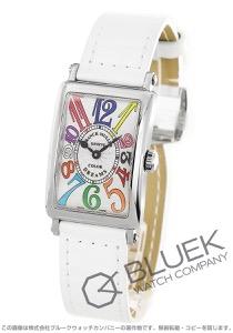 フランクミュラー ロングアイランド カラードリーム クロコレザー 腕時計 レディース FRANCK MULLER 902 QZ COL DRM[FM902QZCDSSSLGLZWH]