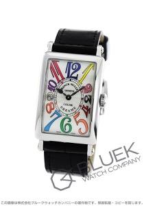 フランクミュラー ロングアイランド カラードリーム クロコレザー 腕時計 レディース FRANCK MULLER 902 QZ COL DRM[FM902QZCDSSSLLZBK]