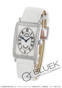 フランクミュラー ロングアイランド クロノメトロ ダイヤ WG金無垢 クロコレザー 腕時計 レディース FRANCK MULLER 902 QZ D CHRONOMETRO