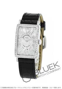 フランクミュラー ロングアイランド レリーフ ダイヤ クロコレザー 腕時計 レディース FRANCK MULLER 902 QZ REL MOP D 1R