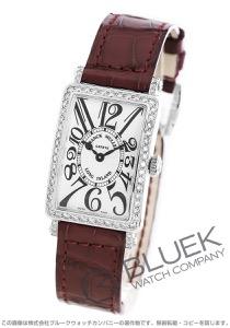 フランクミュラー ロングアイランド ダイヤ クロコレザー 腕時計 レディース FRANCK MULLER 902 QZ D 1R[FM902QZDSSSLLZBO]