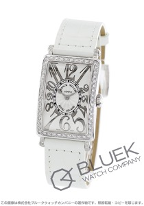 フランクミュラー ロングアイランド レリーフ ダイヤ クロコレザー 腕時計 レディース FRANCK MULLER 902 QZ REL D 1R[FM902QZDSSSLLZWHR]