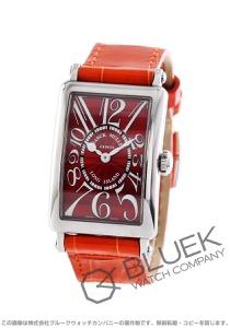 フランクミュラー ロングアイランド レッドカーペット クロコレザー 腕時計 レディース FRANCK MULLER 902 QZ