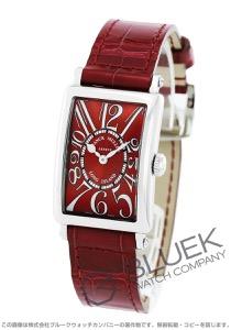 フランクミュラー ロングアイランド レッドカーペット クロコレザー 腕時計 レディース FRANCK MULLER 902 QZ[FM902QZRCSSRDENRD]