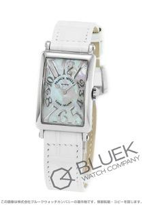 フランクミュラー ロングアイランド レリーフ クロコレザー 腕時計 レディース FRANCK MULLER 902 QZ REL MOP[FM902QZSSMOPLZWHR]