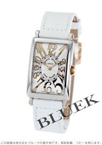 フランクミュラー ロングアイランド レリーフ クロコレザー 腕時計 レディース FRANCK MULLER 902 QZ REL ST G