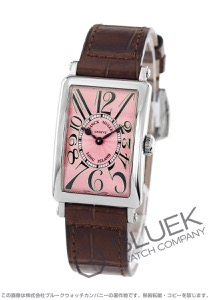 フランクミュラー ロングアイランド クロコレザー 腕時計 レディース FRANCK MULLER 902 QZ