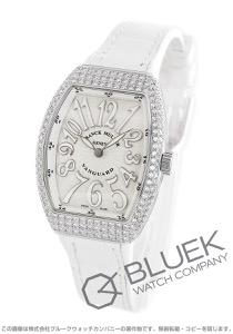 フランクミュラー ヴァンガード レディ ダイヤ クロコレザー 腕時計 レディース FRANCK MULLER V32 QZ D AC BC