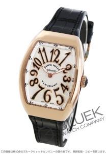 フランクミュラー ヴァンガード レディ PG金無垢 クロコレザー 腕時計 レディース FRANCK MULLER V32 QZ 5N NR