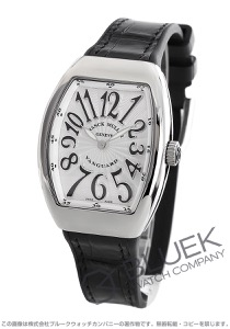 フランクミュラー ヴァンガード レディ クロコレザー 腕時計 レディース FRANCK MULLER V32 QZ AC NR
