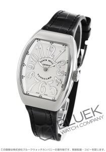 フランクミュラー ヴァンガード レディ クロコレザー 腕時計 レディース FRANCK MULLER V 32 QZ AC BC