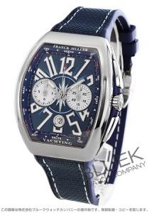 フランクミュラー ヴァンガード ヨッティング クロノグラフ 腕時計 メンズ FRANCK MULLER V 41 CC DT AC BL YACHTING[FMV41CCYTPLSSBLHYBL]