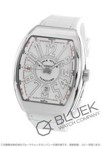 フランクミュラー ヴァンガード クロコレザー 腕時計 メンズ FRANCK MULLER V 41 SC DT[FMV41SCSSWHLZWH]