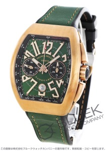 フランクミュラー ヴァンガード クロノグラフ 腕時計 メンズ FRANCK MULLER V45 CC DT CIR BZ BR NR[FMV45CCBRBZGRLZGR]