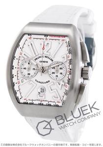 フランクミュラー ヴァンガード クロノグラフ クロコレザー 腕時計 メンズ FRANCK MULLER V 45 CC DT