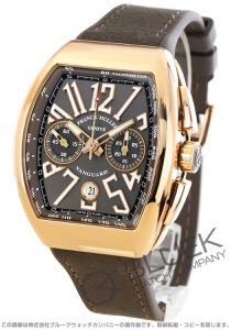 フランクミュラー ヴァンガード クロノグラフ PG金無垢 腕時計 メンズ FRANCK MULLER V 45 CC DT 5N TT