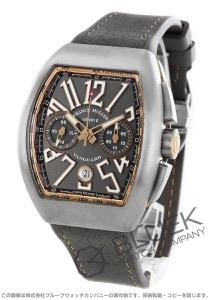 フランクミュラー ヴァンガード クロノグラフ 腕時計 メンズ FRANCK MULLER V 45 CC DT TT BR 5N