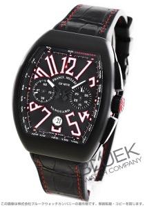 フランクミュラー ヴァンガード クロノグラフ クロコレザー 腕時計 メンズ FRANCK MULLER V 45 CC DT TT NR BR ER
