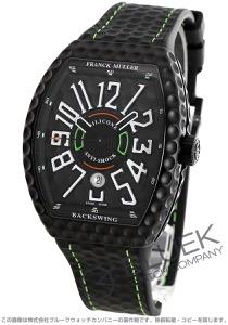 フランクミュラー ヴァンガード バックスイング 腕時計 メンズ FRANCK MULLER V45 SC DT GOLF TT NR BR NR