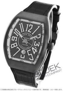 フランクミュラー ヴァンガード グラシエ クロコレザー 腕時計 メンズ FRANCK MULLER V 45 SC DT