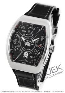フランクミュラー ヴァンガード クロコレザー 腕時計 メンズ FRANCK MULLER V45 SC DT AC NR