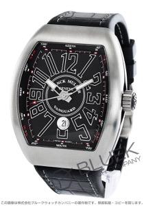 フランクミュラー ヴァンガード クロコレザー 腕時計 メンズ FRANCK MULLER V 45 SC DT[FMV45SCSSBKLZBKB]