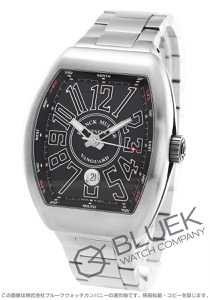 フランクミュラー ヴァンガード 腕時計 メンズ FRANCK MULLER V 45 SC DT[FMV45SCSSBKSS]