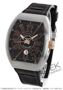 フランクミュラー ヴァンガード クロコレザー 腕時計 メンズ FRANCK MULLER V45 SC DT AC BR STG BR