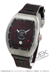 フランクミュラー ヴァンガード クロコレザー 腕時計 メンズ FRANCK MULLER V45 SC DT TT BR ER