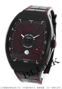 フランクミュラー ヴァンガード クロコレザー 腕時計 メンズ FRANCK MULLER V 45 SC DT[FMV45SCTIRDBKLZBK]