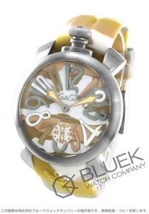 ガガミラノ マヌアーレ カモフラージュ48MM 腕時計 メンズ GaGa MILANO 5010.17S