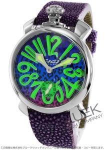 ガガミラノ マヌアーレ48MM アニマーレ 世界限定300本 ガルーシャレザー 腕時計 メンズ GaGa MILANO 5010ART.03S
