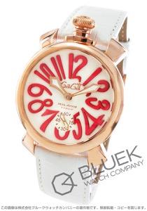 ガガミラノ マヌアーレ48MM 腕時計 メンズ GaGa MILANO 5011.10S-WHT