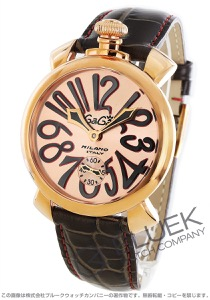 ガガミラノ マヌアーレ48MM 腕時計 メンズ GaGa MILANO 5011.11S