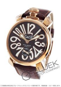 ガガミラノ マヌアーレ48MM 腕時計 メンズ GaGa MILANO 5011.01S