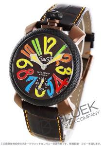 ガガミラノ マヌアーレ48MM リミテッドエディション 腕時計 メンズ GaGa MILANO 5016.EDA05PMOF