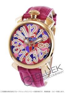 ガガミラノ マヌアーレ40MM モザイク 腕時計 ユニセックス GaGa MILANO 5021.MOS.02