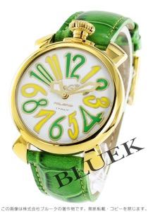 ガガミラノ マヌアーレ40MM 世界限定300本 腕時計 レディース GaGa MILANO 5023.LE.B LIMITED EDITION BRASIL