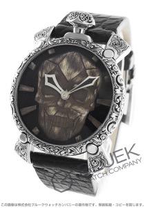 ガガミラノ マヌアーレ48MM スカルプチャー 世界300本限定 腕時計 メンズ GaGa MILANO 5060.CE