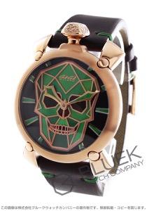 ガガミラノ マヌアーレ48MM バイオニックスカル 世界限定500本 腕時計 メンズ GaGa MILANO 5061.02S