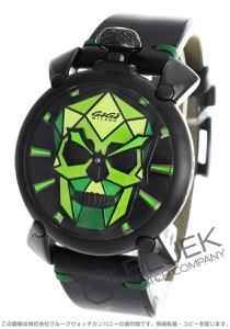ガガミラノ マヌアーレ48MM バイオニックスカル 世界限定500本 腕時計 メンズ GaGa MILANO 5062.03S