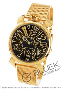 ガガミラノ スリム46MM ネイマールモデル 世界限定1111本 腕時計 メンズ GaGa MILANO 5083.NJ.01