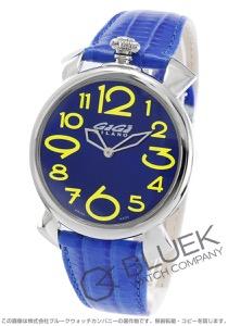 ガガミラノ マヌアーレ シン46MM リザードレザー 腕時計 メンズ GaGa MILANO 5090.09