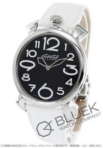 ガガミラノ マヌアーレ シン46MM リザードレザー 腕時計 ユニセックス GaGa MILANO 5090.11