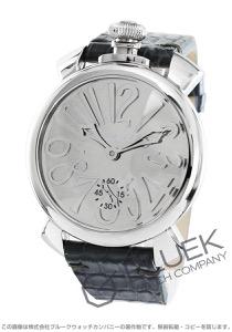 ガガミラノ マヌアーレ48MM ミラー 世界限定500本 腕時計 メンズ GaGa MILANO 5210.MIR.01S