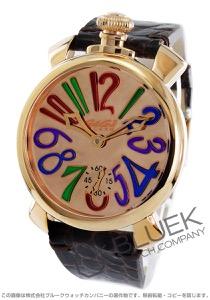 ガガミラノ マヌアーレ48MM ミラー 世界限定500本 腕時計 メンズ GaGa MILANO 5211.MIR.02S