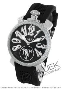 ガガミラノ マヌアーレ48MM ネイマールモデル 世界限定500本 ダイヤ 腕時計 メンズ GaGa MILANO 5510.NJ.01D
